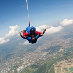 Skydiving over the Capital