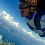 Beautiful day Hvar skydiving